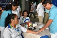 Realizan estudiantes de Nutrición Jornada por el Día Mundial de la Diabetes 2018