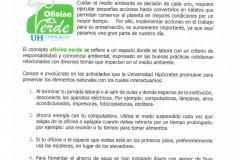 Guía Institucional para una Oficina Verde