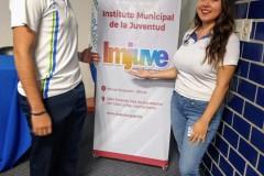 """Se impartió la conferencia """"Emprendedores, Impulsando Emprendedores"""" a través del Instituto Municipal de la Juventud (IMJUVE)"""