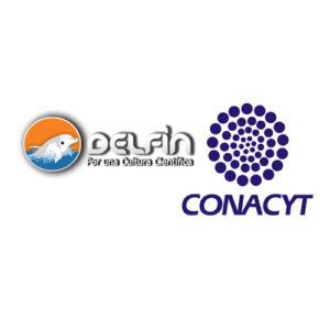 Logotipos DELFÍN y CONACYT