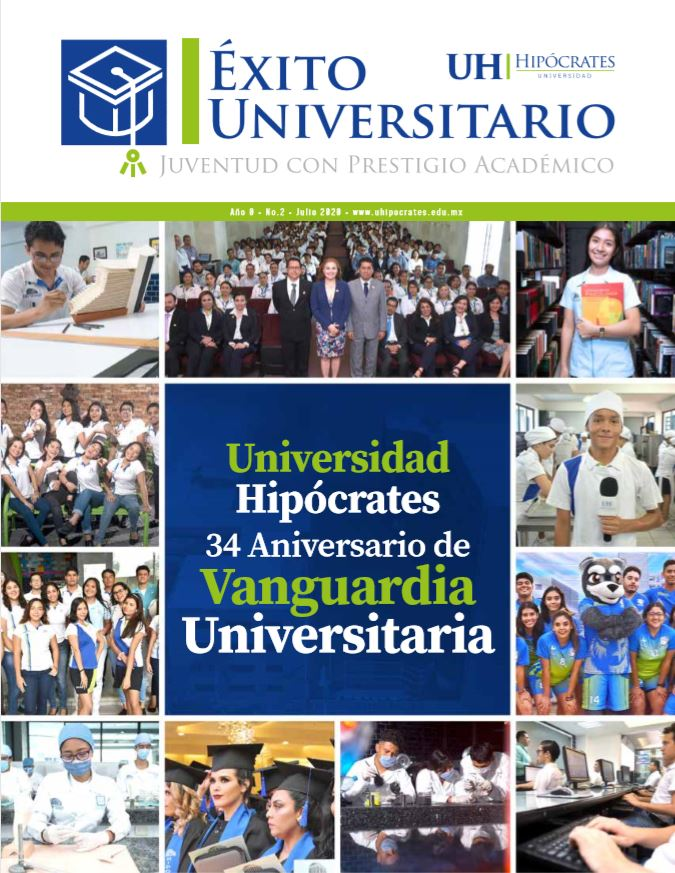 Publicación Éxito universitari0 2020 34 aniversario de vanguardia universitaria