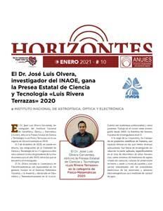 Revista Horizontes enero 2021