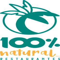 Logo 100% natural restaurantes