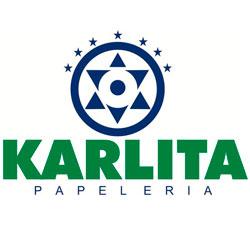 Logo de Papelería Karlita