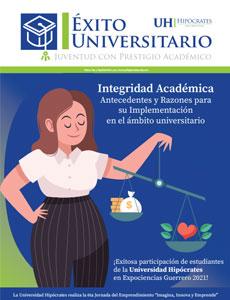 Revista Éxito Universitario septiembre 2021